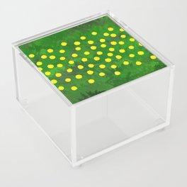 Flower Dandelion (rectangular) Acrylic Box