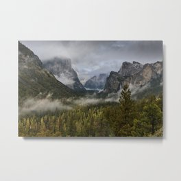 Yosemite National Park / Tunnel View  4/26/15 Metal Print
