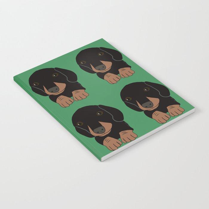 Dachshund Puppies Galore! Notebook