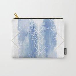 Spiritual Warrior Rune- Watercolour illustration Carry-All Pouch