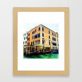 Gritti Palace Hotel Framed Art Print