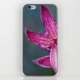 Frosty Fuschia Wings iPhone Skin