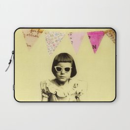 """Partially Amused"" Laptop Sleeve"