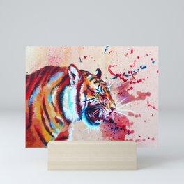 Vivid Rage Mini Art Print