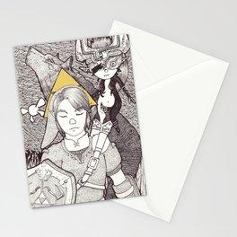 twilight warriors Stationery Cards