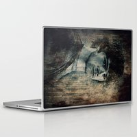 sam winchester Laptop & iPad Skins featuring Sam Winchester by Sirenphotos