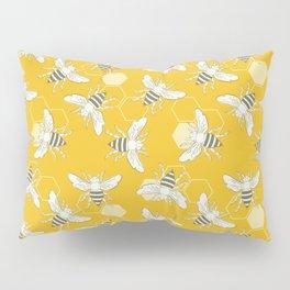 Honey Bees Pillow Sham