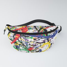 Pollock Remembered by Kathy Morton Stanion Fanny Pack