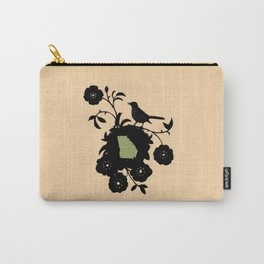 Georgia - State Papercut Print Carry-All Pouch