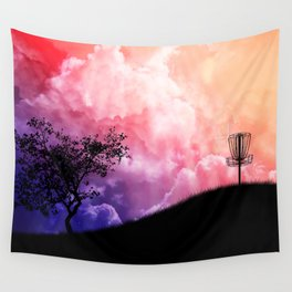 Basket On A Hill Wall Tapestry