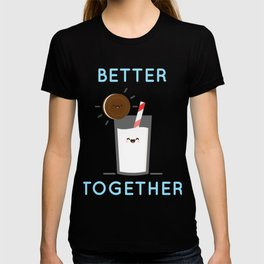 Cookies and Milk - Better Together Art T-shirt