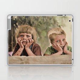 Oklahoma Refugee Children 1936 Laptop & iPad Skin