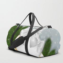 Christmas tag Duffle Bag