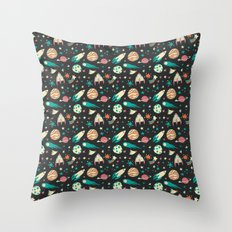 Science Fiction Wrapping Paper No. 1 Throw Pillow