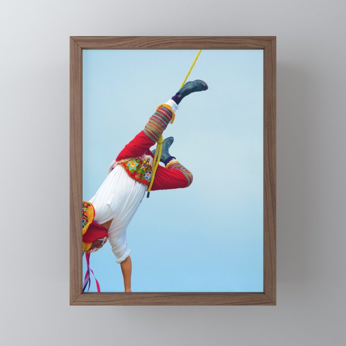 Flying artist colelction _06 Framed Mini Art Print