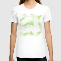 feather T-shirts featuring Feather  by Mr and Mrs Quirynen