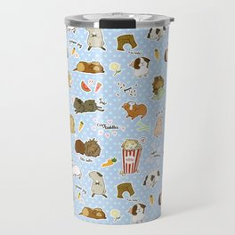 Guinea Pig Party! - Cavy Cuddles and Rodent Romance Travel Mug