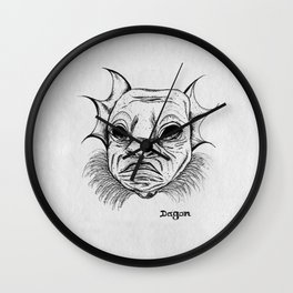dagon. Wall Clock