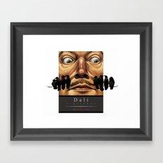 Dali Vineyards Wine Label Framed Art Print