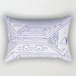 PowerLines 26 Rectangular Pillow