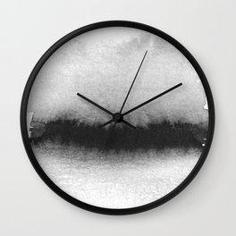 Black and White Horizon Wall Clock