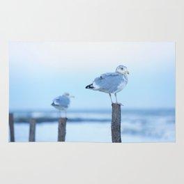Seagulls Sunset Rug