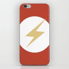 The Flash Vector Logo iPhone & iPod Skin