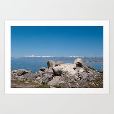 Salt Lake Scenery II Art Print