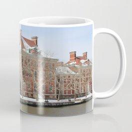 Ellis Island in the Winter Coffee Mug