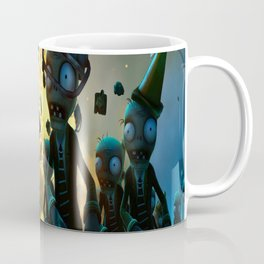 Zombie Vs plant Coffee Mug