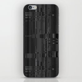 Geometric Texture Power iPhone Skin