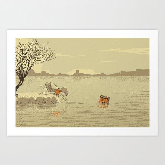 ANALOG Zine Art Print