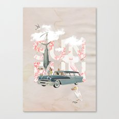 Sun Fun Canvas Print
