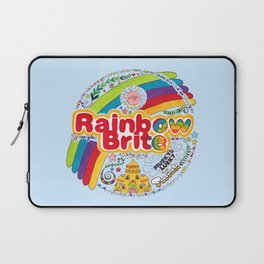Rainbow Brite Laptop Sleeve