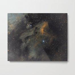 Pelican Nebula Metal Print