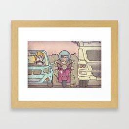 Eixample Framed Art Print