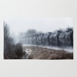 Winter Locomotion Rug
