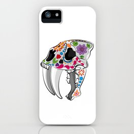 Day of the extinct: Sabretooth iPhone Case