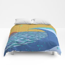 Sunset VIII Comforters