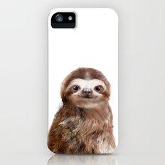 Little Sloth iPhone SE Slim Case