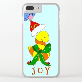 """Joy"" Clear iPhone Case"