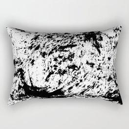 Inky Texture 14 Rectangular Pillow