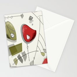 Atomic Kientic Mobile Stationery Cards