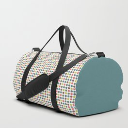 Retro Polka Dots Duffle Bag