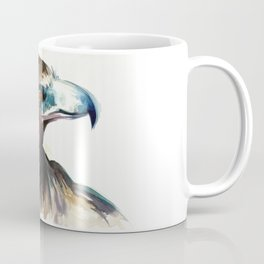 Eagle Head Detail - Watercolor Painting Coffee Mug