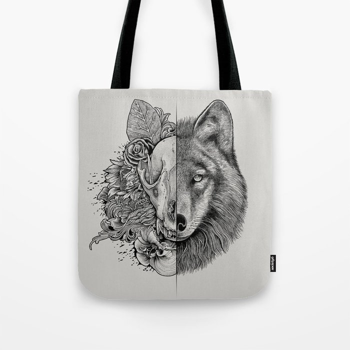 New Wolf (Half Life) Tote Bag