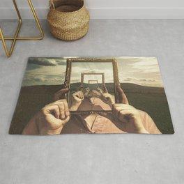 Empty Frame Rug