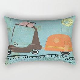 Direction of Your Dreams Rectangular Pillow