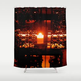 Candleglow Shower Curtain