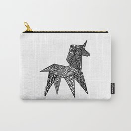 Unicorn Origami Illustration Carry-All Pouch